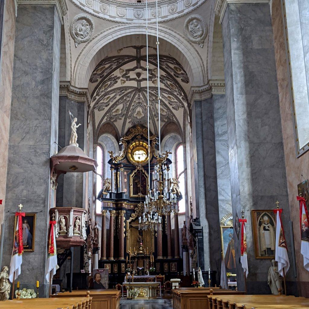 St. Lawrence's Church inside