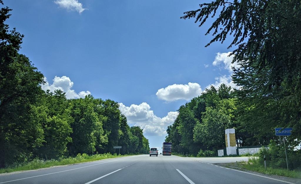 Driving to Bakota
