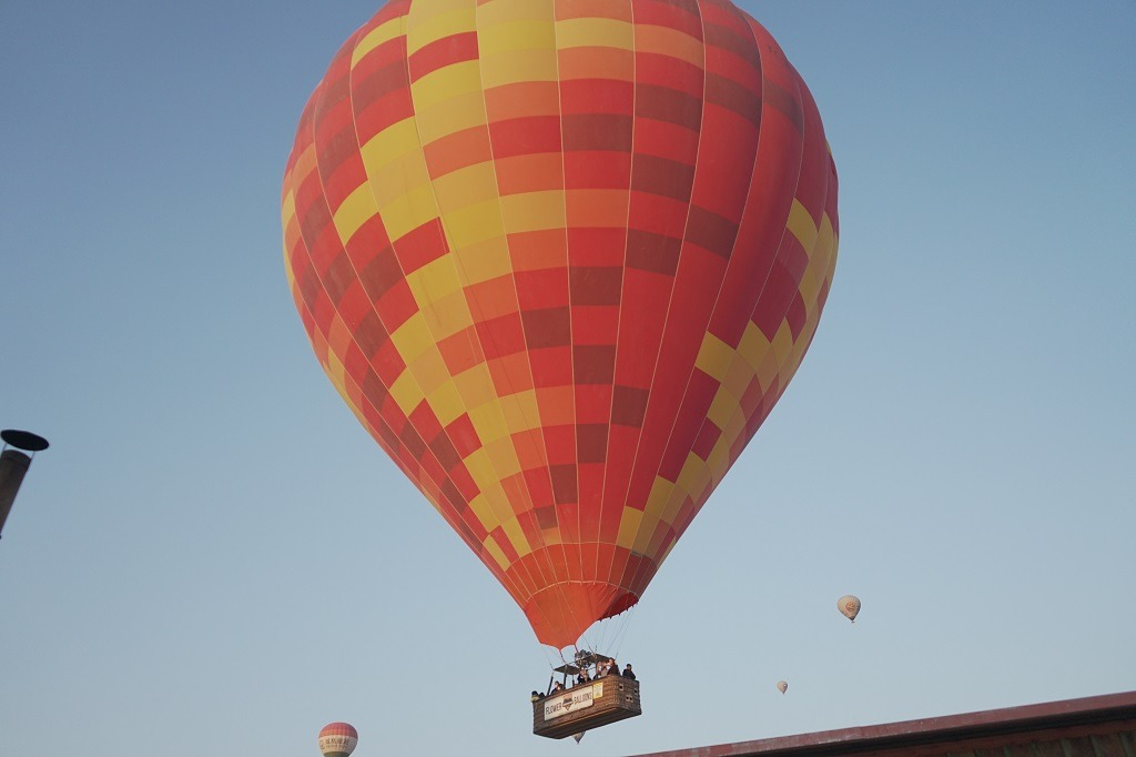 Have A Ride In A Hot Air Balloon
