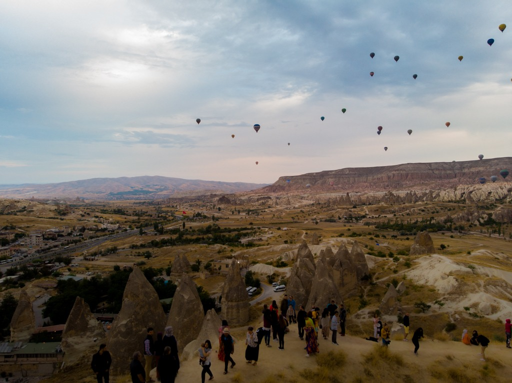 Picture of the sunset viewpoint, 10 Things To Do In Cappadocia