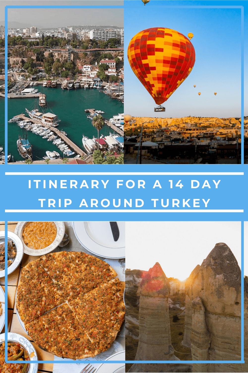 Itinerary for a 14 day Trip Around Turkey