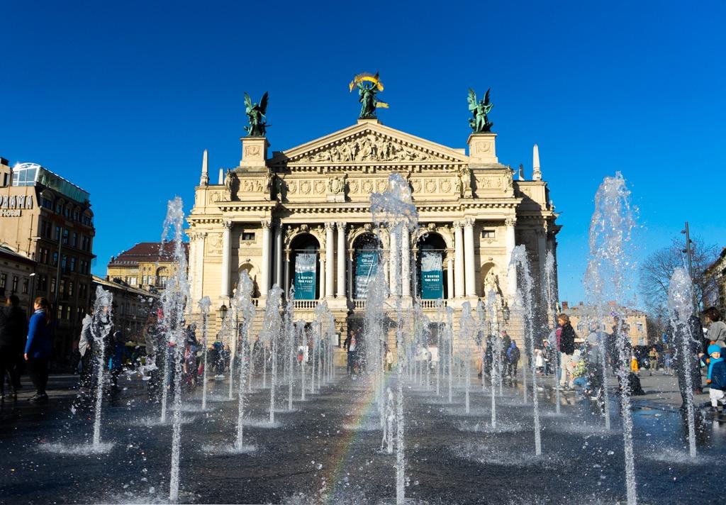 Things To Do In Lviv, Ukraine: Dancing Water