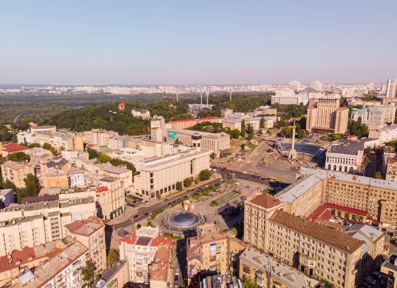 Khreshchatyk Street & Maidan Nezalezhnosti (Independence square)