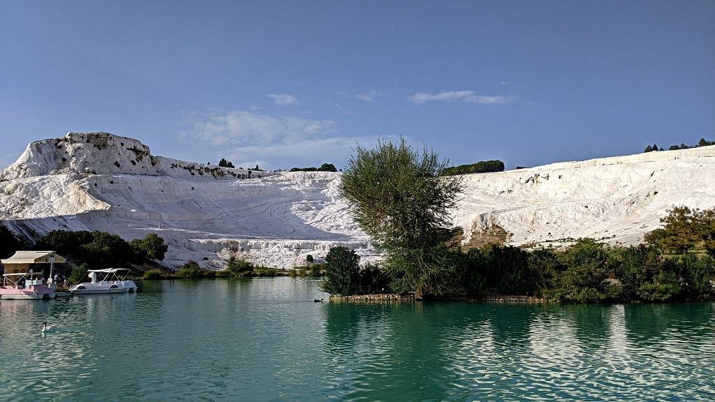 Pamukkale lake