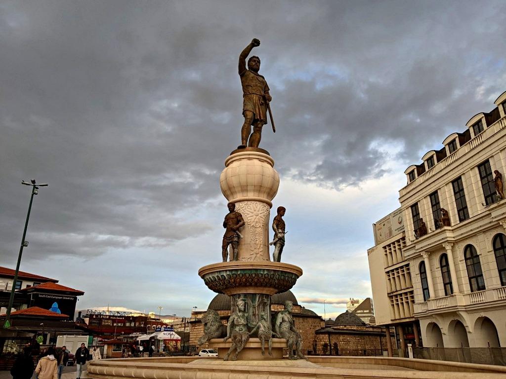 Statue of Phillip the II
