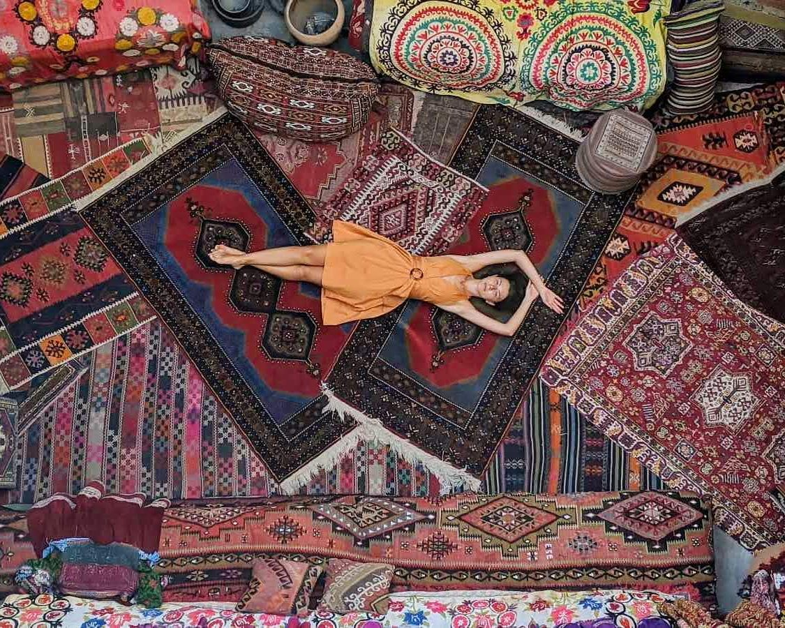 Itinerary for a 14 day Trip Around Turkey: Sultan Carpet