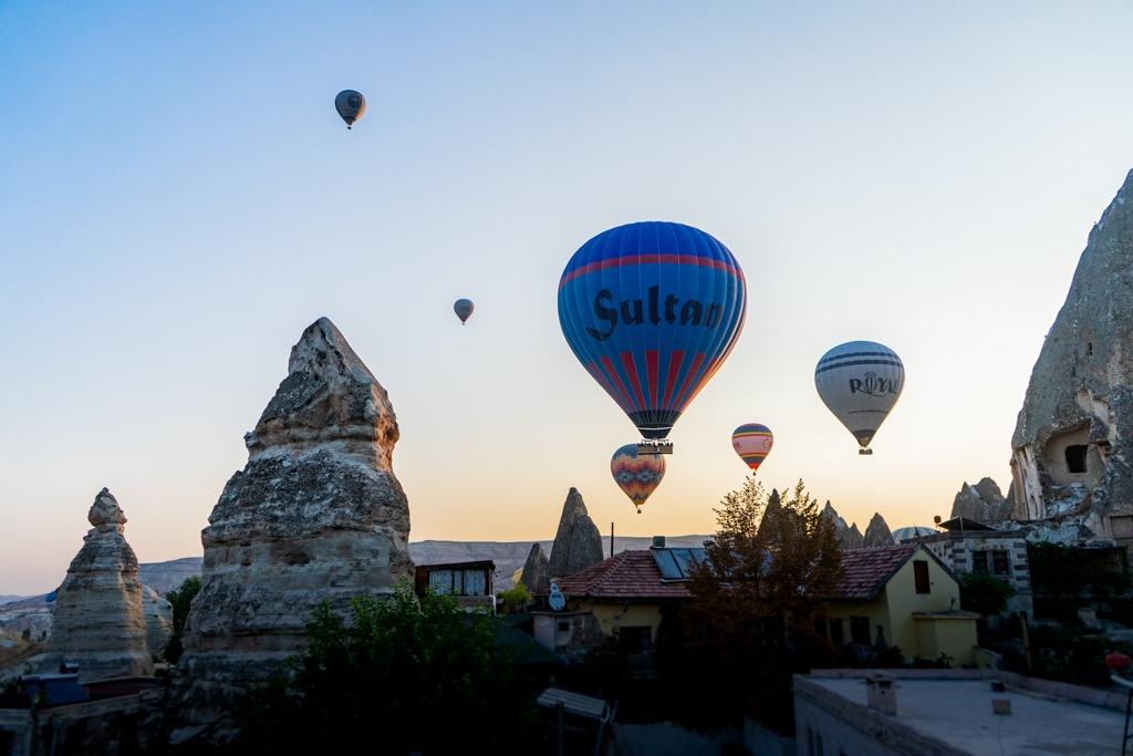 Hot air balloons, 10 Things To Do In Cappadocia