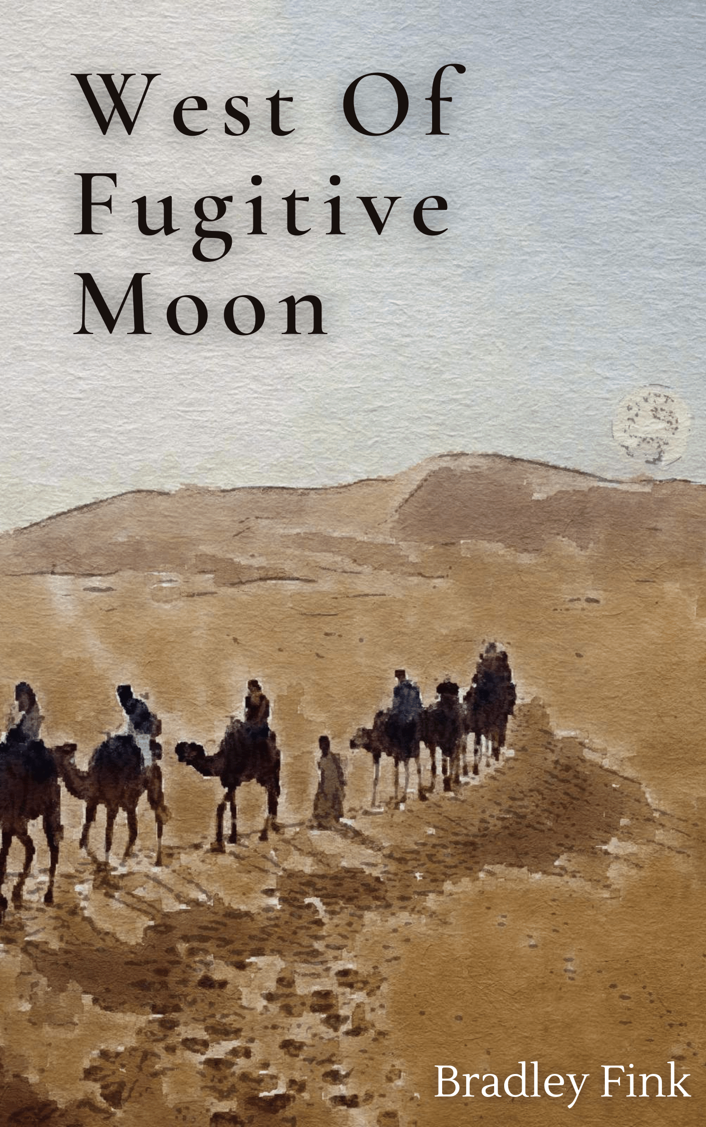 West Of Fugitive Moon novella cover