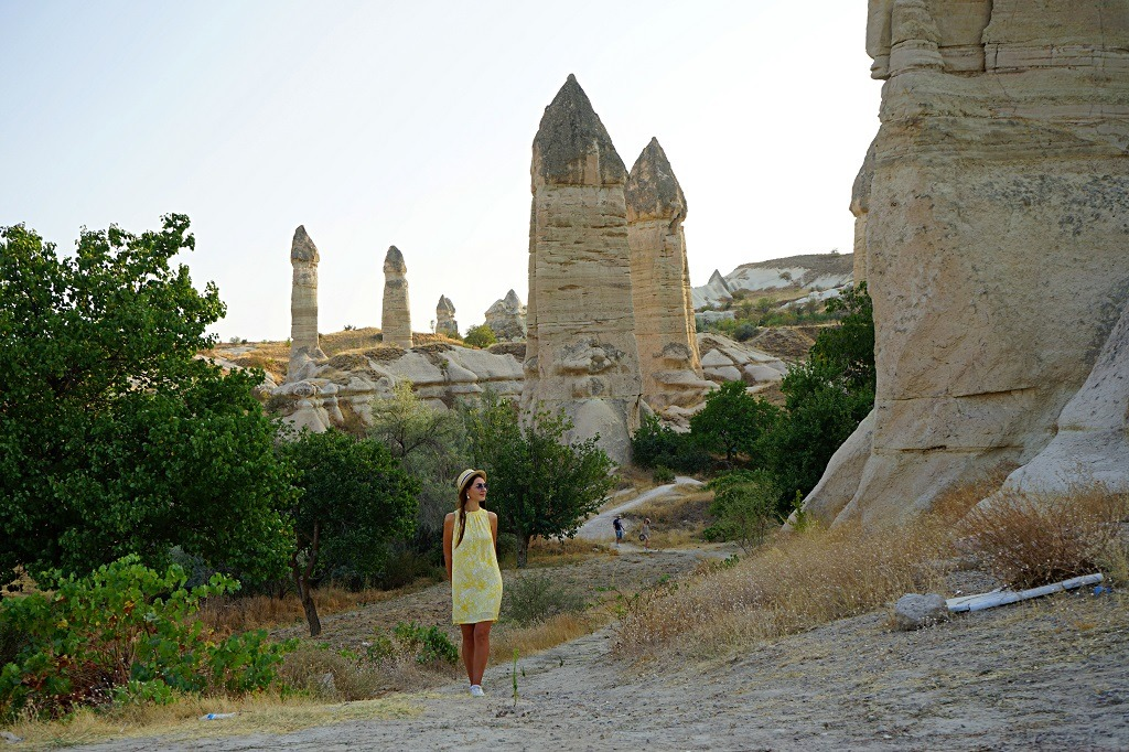 Fairy Chimneys In Zemi Vallley