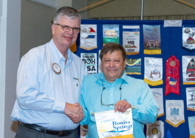 Rotary Club of Bonita Springs members and guests
