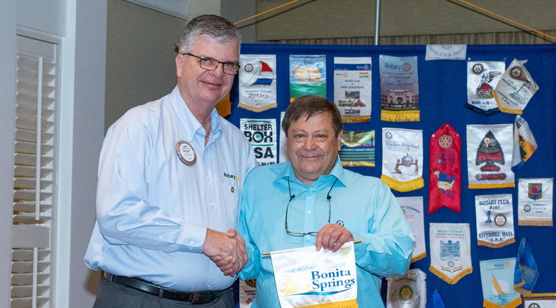 Rotary Club of Bonita Springs members and guests