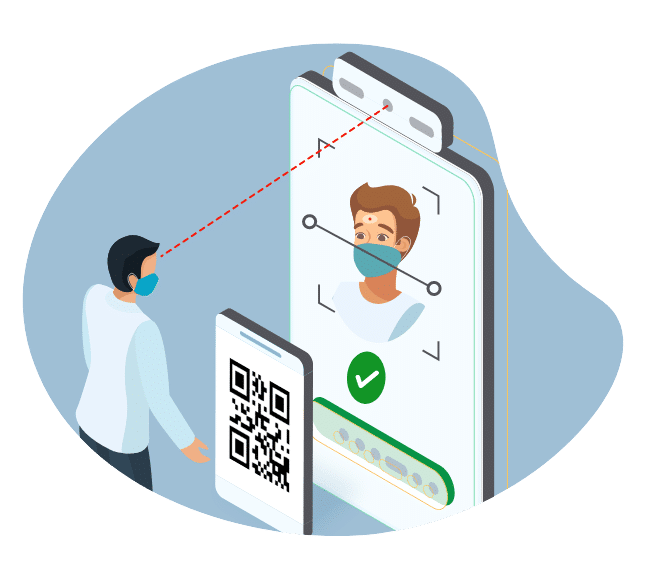 Protect The Employees WIth Touchless Check-In Process