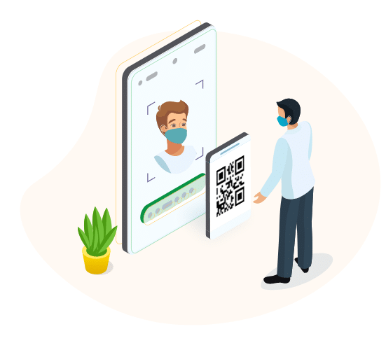 How Does Fidentity Touchless Facial Recognition Feature Work?
