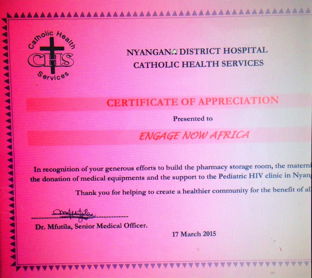 ENA Recognized by Catholic Health Services
