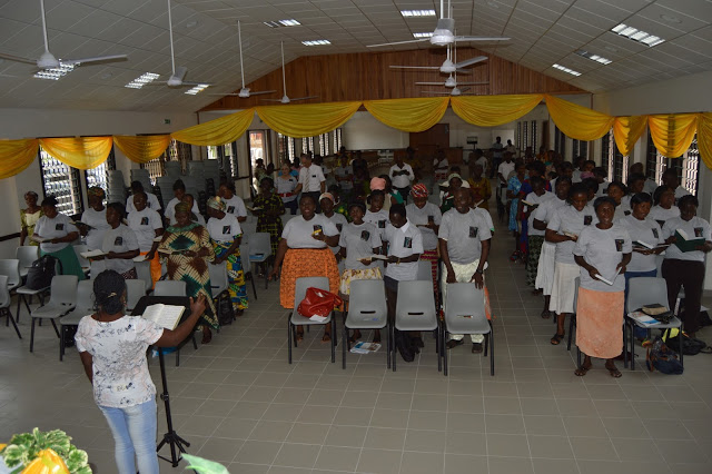 Asamankese District Literacy Graduation Ceremony