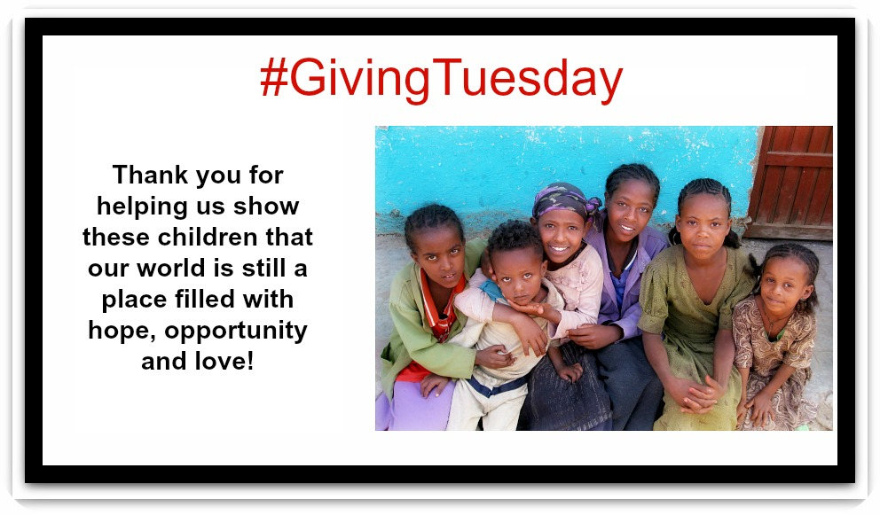 Today is the Day!!! #GivingAfrica