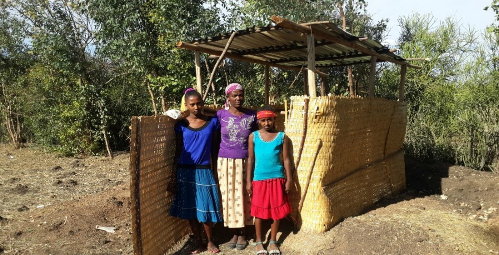 Private Latrine Brings Health and Happiness to Widowed Mother of 3