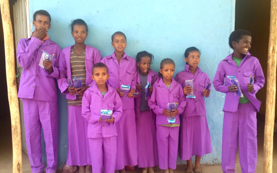 Orphans supported by ENA soar to #1 and #2 in their class!