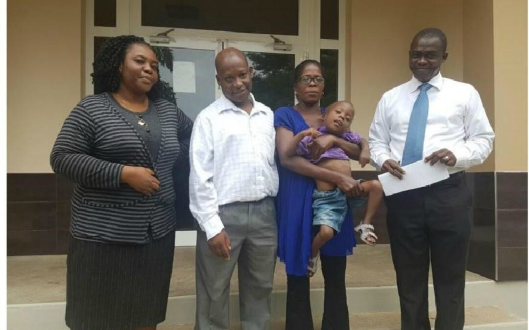 Cerebral Palsy Child Receives Support