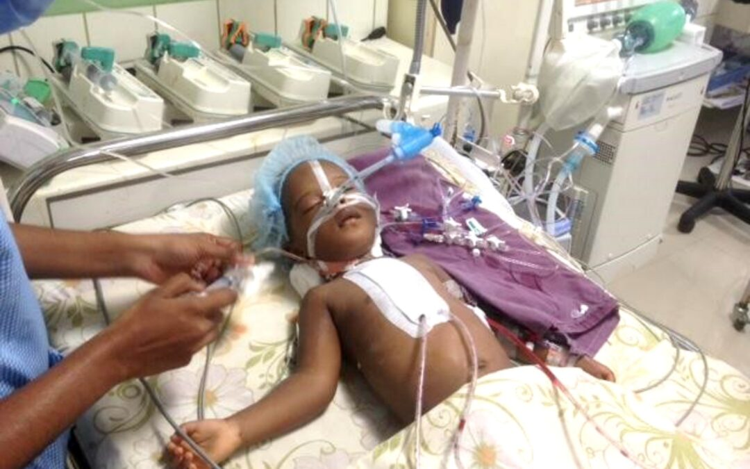 ENA Funds Heart Surgery for Two Year Old
