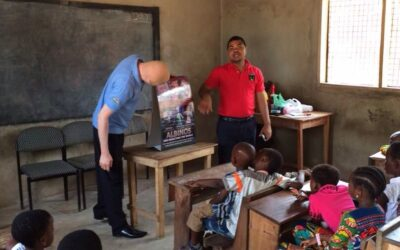 ENA's Albinism Sensitization Program Changes Young Boy's Life