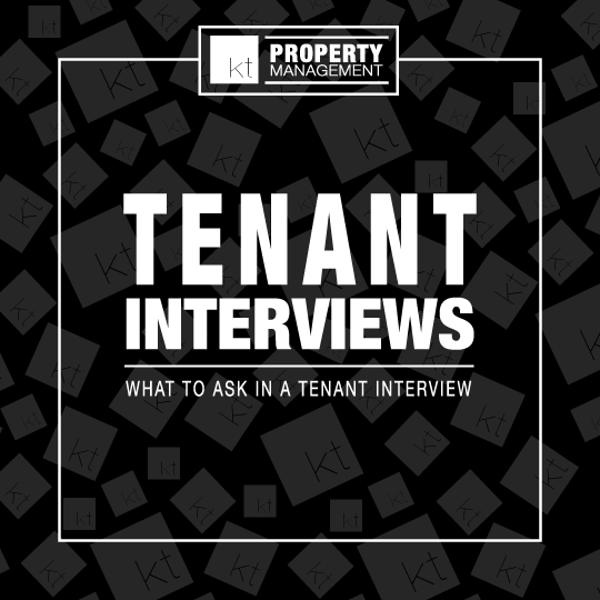 What to ask when interviewing tenants