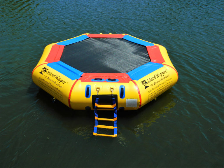 10 Foot Island Hopper Bounce N Splash Water Trampoline