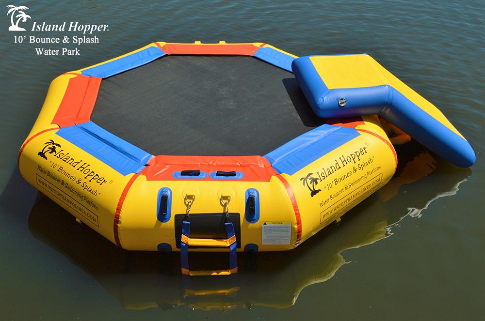 10 Foot Island Hopper Bounce N Splash Water Park