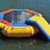10 Foot Island Hopper Bounce N Splash Water Park