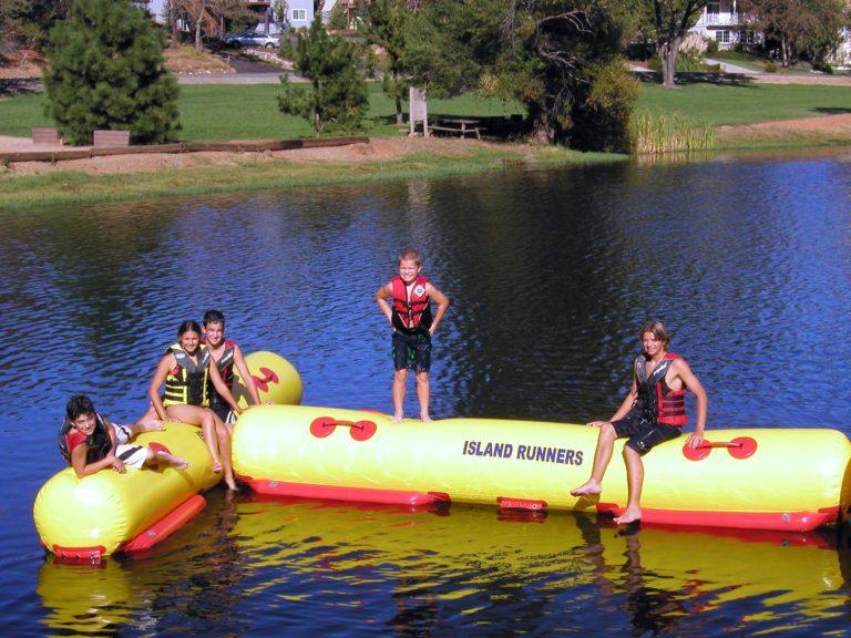 Island Hopper Island Runner Inflatable Water T