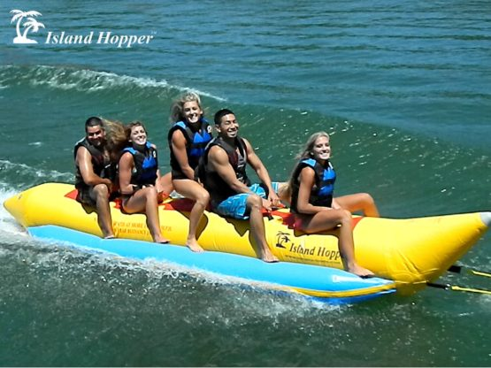 Island Hopper 5 Person Inflatable Banana Boat
