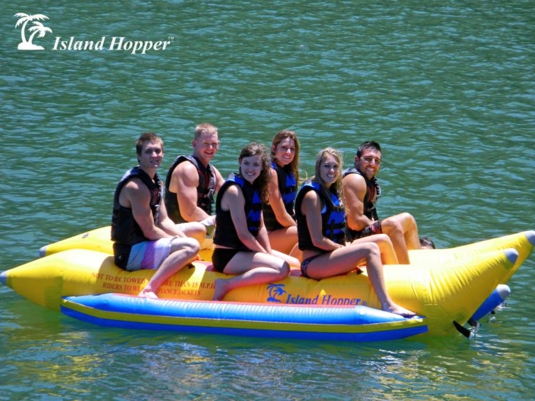 Island Hopper 6 Person Inflatable Banana Boat