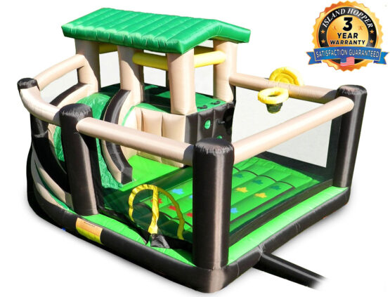 island hopper Fort All Sports Recreational Bounce House