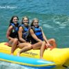 Island Hopper 3 Person Inflatable Banana Boat