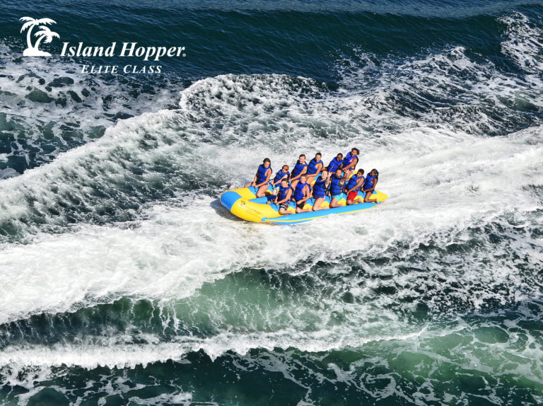 Island Hopper 12 Person Inflatable Banana Taxi