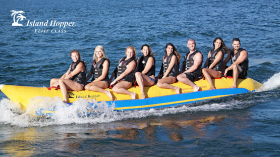 Island Hopper 8 Person Inflatable Banana Boat