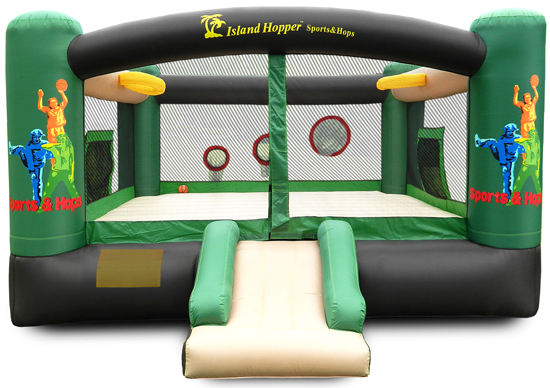 Island Hopper Sport Hops Bounce House