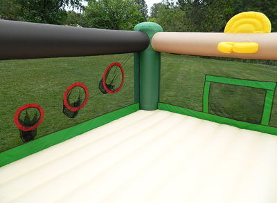 Island Hopper Fort All Sport Bounce House Games