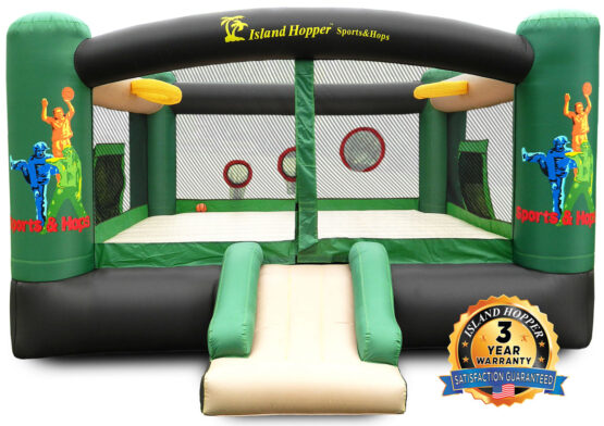 island hopper Sports N Hops Recreational Bounce House