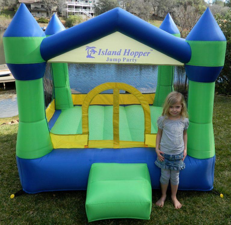 Island Hopper Jump Party Bounce House