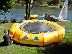 Water Trampoline Inflation