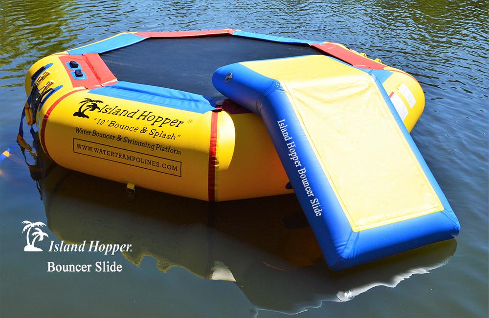 Island Hopper Bouncer Slide