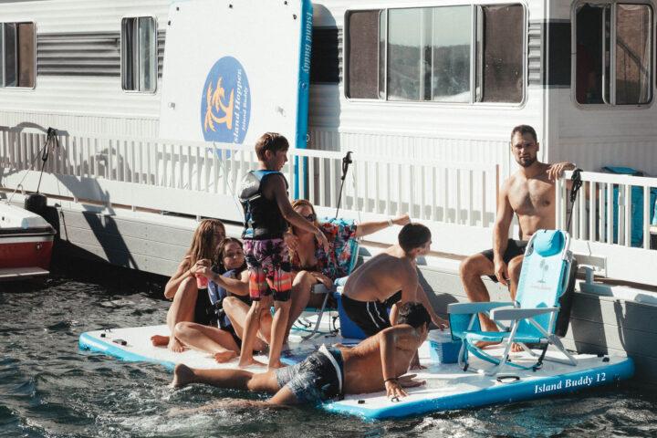 12 foot island buddy on house boat