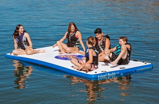 12 foot island buddy water platform for kids