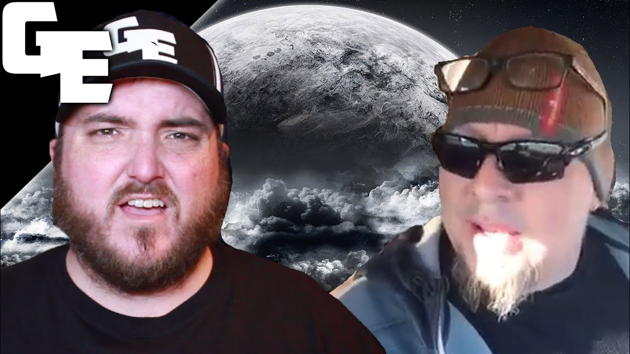 RichieFromBoston Proves Chemtrails Are Real and The Moon Is Close To Us