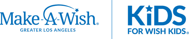 Make-A-Wish Los Angeles and Kids for Wish Kids logos