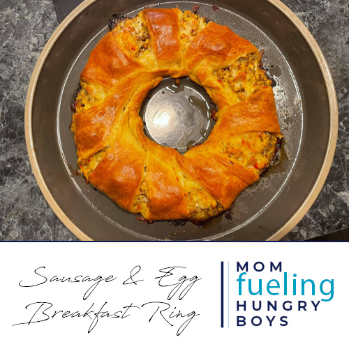 Sausages & Egg Breakfast Ring
