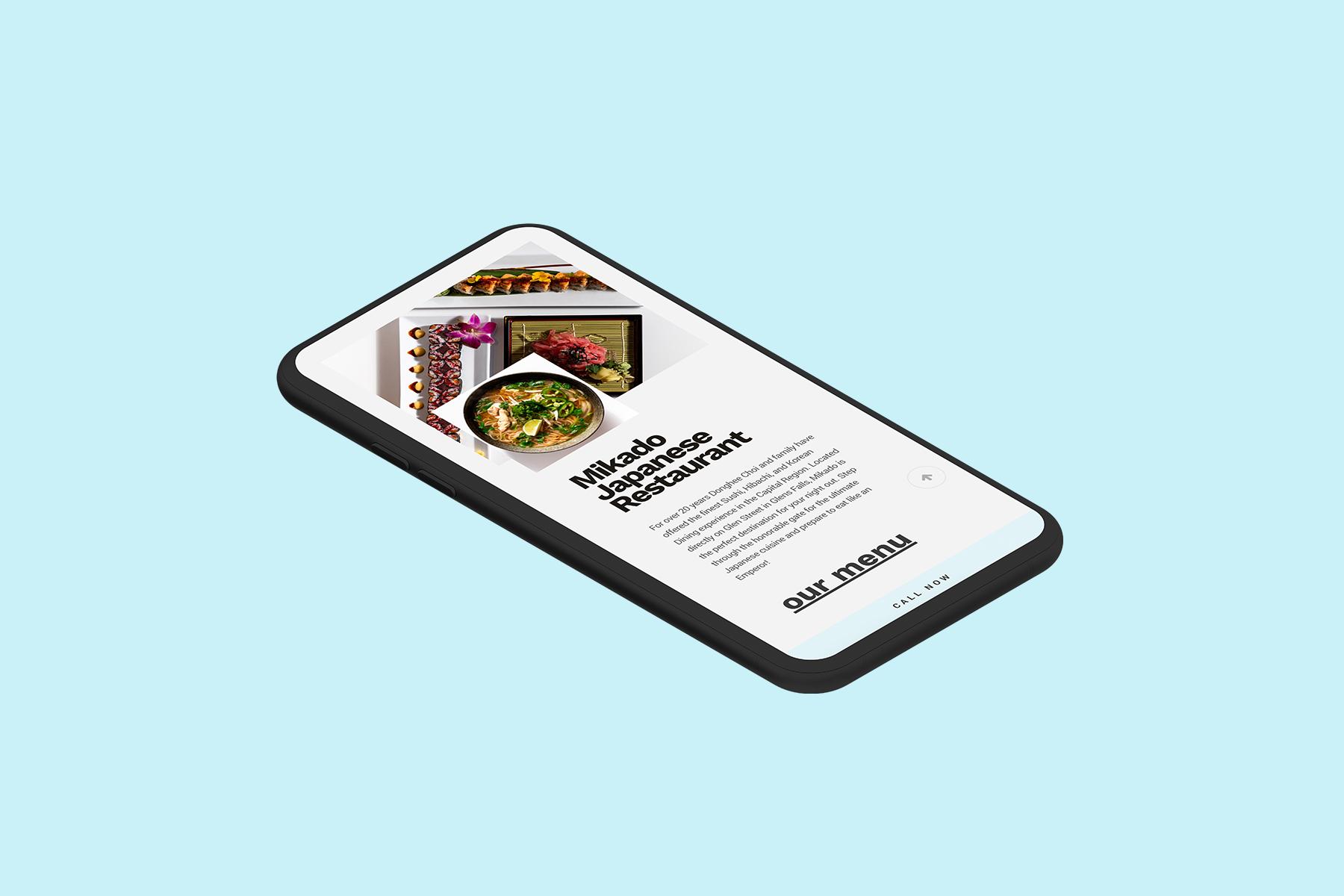 Web Dev of website on iPhone