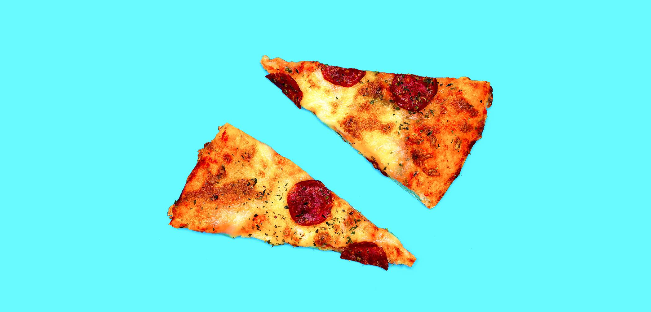 restaurant marketing pizza slices