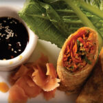 Our veggie spring rolls are a Paddle favorite!